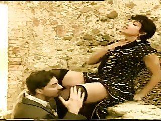 greek couple having fun
