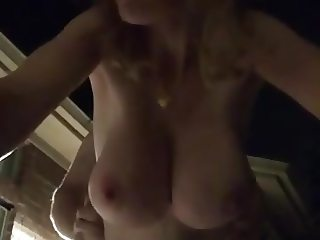 Mommy gets Fucked Outside