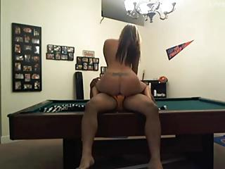 Pool table fuck session
