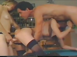 Threesome and eating the cum out of my butt