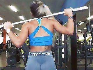 yes!!! fitness hot ASS hot CAMELTOE 36