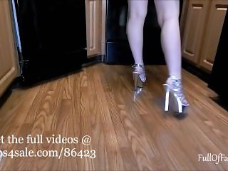 Walking in Heels Fetish teaser compilation