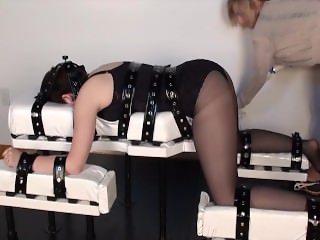 Nicole Spanking Bench Vib