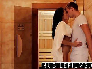 Erotic seduction gives petite babe full body orgasm