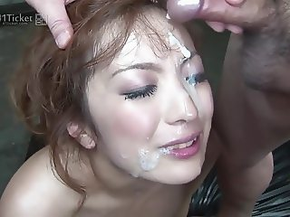 Aiko Nagai's Bukkake Creampie Facefuckfest (Uncensored JAV)