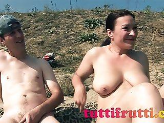 nude beach amateur MILF casring