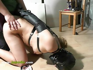 Punished Girl Doggystyle Fucked  - Jupudo.com - Tied Fuck