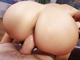 Petite Ava Dalush's cunt gets pounded in POV