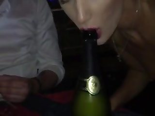 Drinking Champagne...