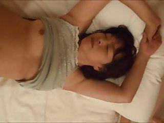 Horny Japanese milf  Kui Somya  lingerie creampie 5