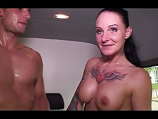 Hot Tattooed German Fucks For Money
