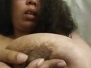 Sucking my own nipples