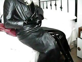 Enjoying the full leather