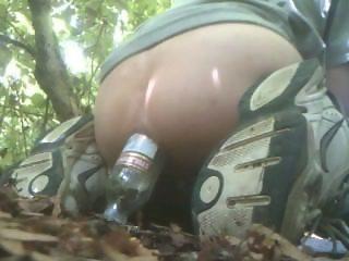 Smirnoff Vodka Bottle anal fucking