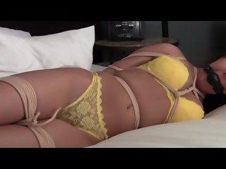 Tied in lingerie