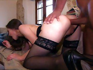 Alexandra Stein fucking in blck stockings