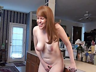 Hot Mom just by herself