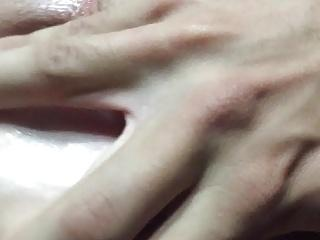 foot in ass with gape