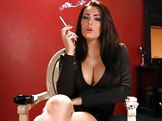 babe smoking