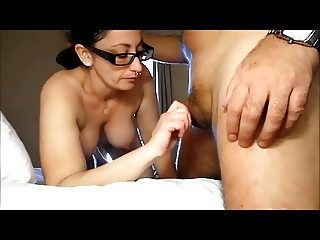 BBW AMATEUR NERD REALITY BLOWJOB
