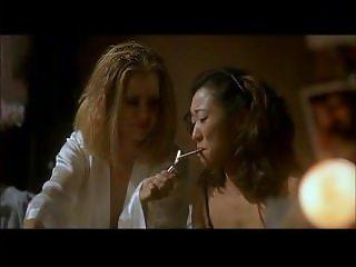 Sandra Oh Smoking