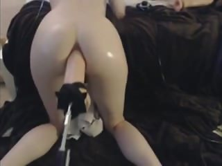 anal fuck machine and hitachi play cam girl