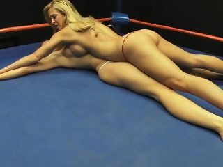 Wrestling: Cherie Deville vs. JC Marie - Topless Pindown Catfight