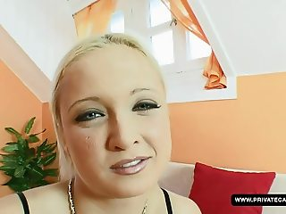 Kyara is ready for our anal casting session