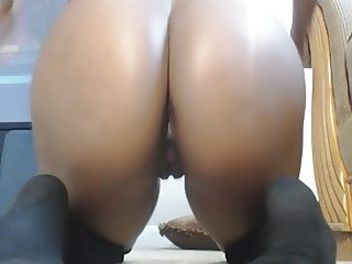 Big ass ebony chick