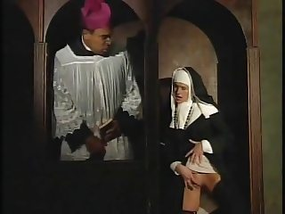 Cloistered nun
