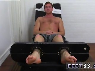 Men sucking mens feet movies and gay twinks feet tied Connor Maguire