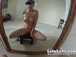 Lelu Love-Cum Ride Sybian From My POV