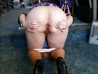 Wife Rubs Her Pussy