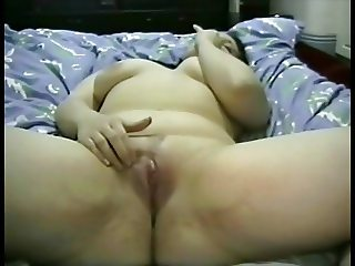 Hot brunette real amateur masturbating 1