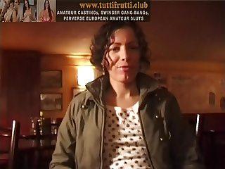 real european amateur casting