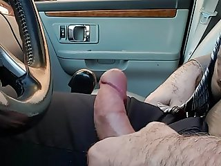 Car Dick Flash 1st time. Hooker prostitute