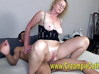 Young BBC Leaves Huge Creampie