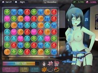 Huniepop sex with Teacher Aiko