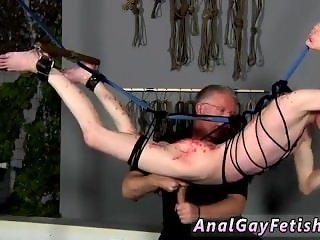 Bondage restricted tube gay Master Sebastian Kane has the jiggly Aaron