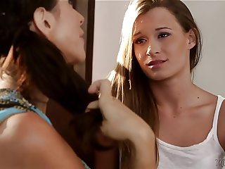 Ariella Ferrera and NOT Her Cute Step daughter