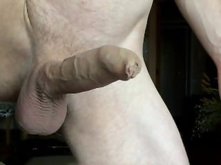 jerking big cock in slowmotion