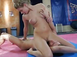 hot blonde humiliates guy and blows him