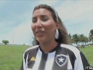 Gigi Sweet Teases In Her Soccer Jersey
