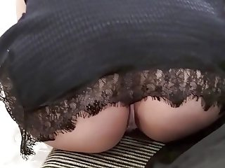 Wow Super upskirt ( anal )