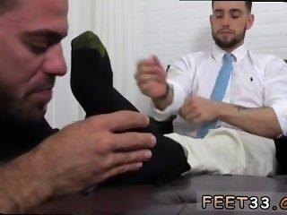 Black thug jerk off feet men gay first time KC's New Foot & Sock Slave