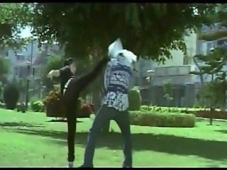 Ayesha Lady Boss Fight Bad Guys 3