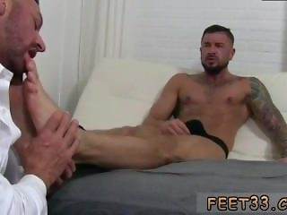 Young gay porn small sex first time Dolf's Foot Doctor Hugh Hunter