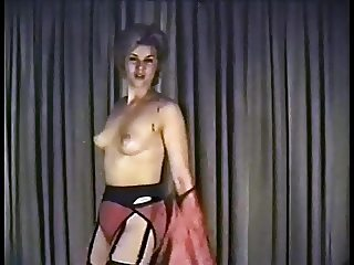 SHAKE BABY SHAKE - vintage striptease twist dance