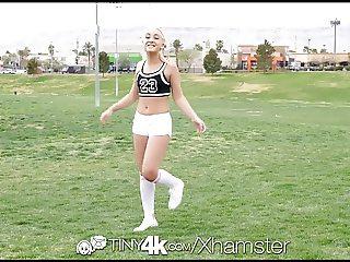 Tiny4K - Hot soccer playerfucks blonde Cleo Vixen