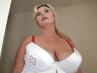 PWG dressed as a Nurse
